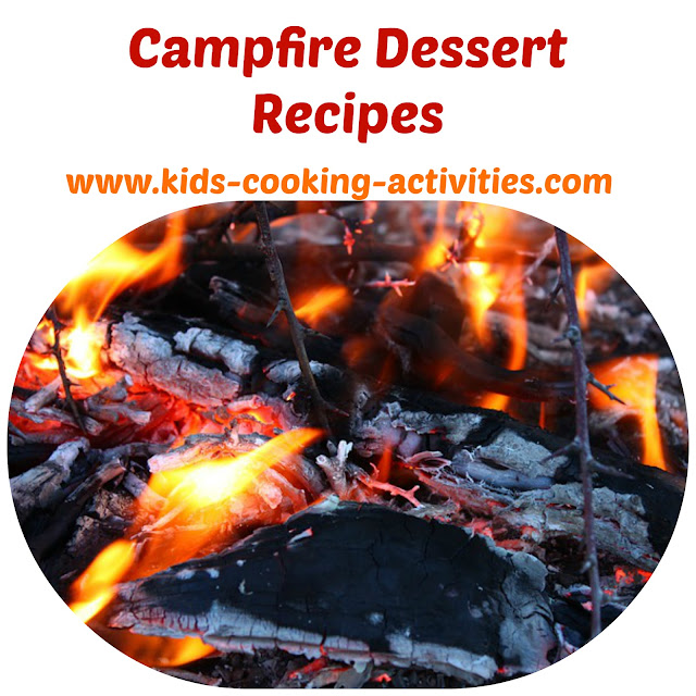 Kids Campfire Cooking And Recipes For Outdoor Cooking For: Kids Cooking Activities