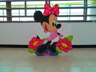 DECORACION FIESTA MINNIE MOUSE RECREACIONISTAS MEDELLIN 1