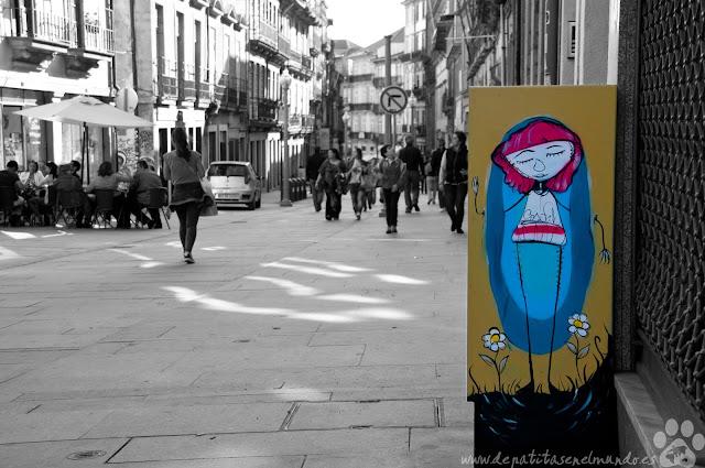 Rua das Flores en Oporto