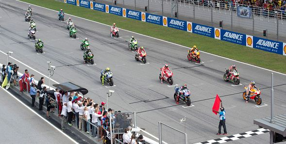 Posisi Start MotoGP Austria 2017:  Hasil Kualifikasi