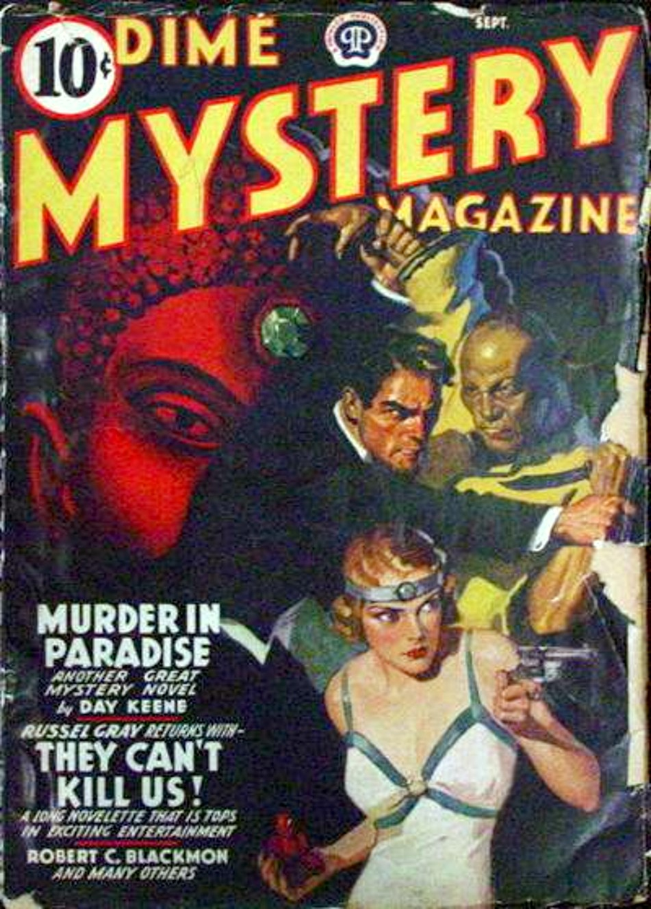 Rough edges september 2012 sunday morning bonus pulp dime mystery september 1941 fandeluxe Choice Image