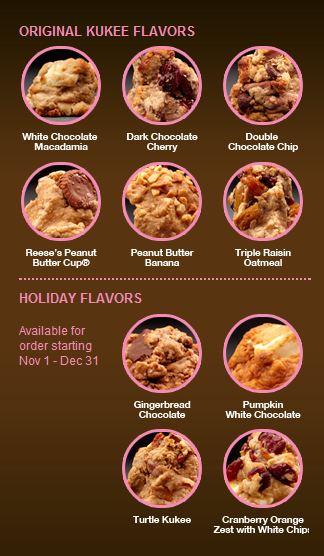 flavors list of kukees