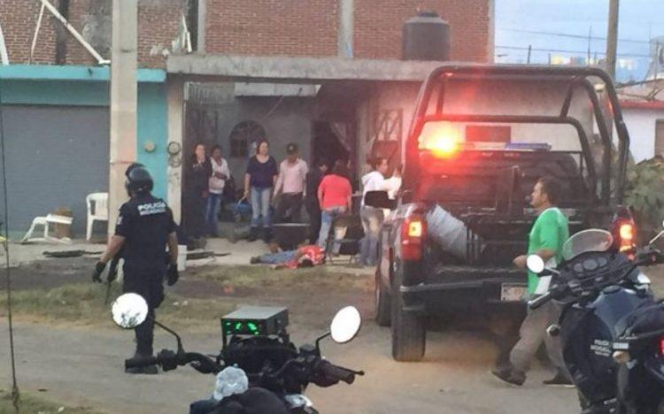 Motosicarios ejecutan a seis personas en una fiesta en Uruapan, Michaocan
