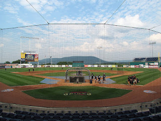 Home to center, Medlar Field at Lubrano Park