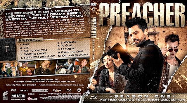 Capa Bluray Preacher T01 Season One