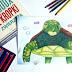Połącz Kropki (i pokoloruj) - żółw