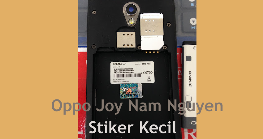 Download Firmware Oppo Joy R1001 Nam Nguyen Stiker Kecil