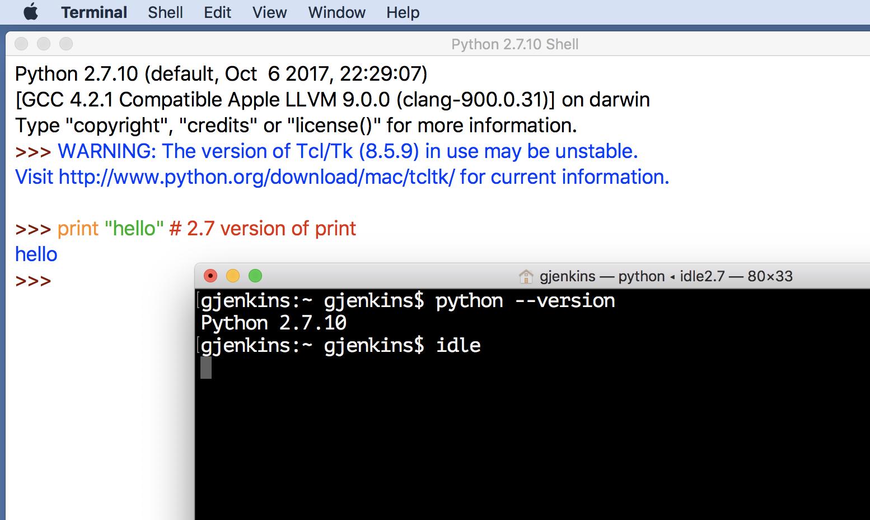 python download mac