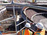 USNRC inspecters view Vogtle construction (Photo Credit: Nuclear Regulatory Commission via Flickr) Click to Enlarge.