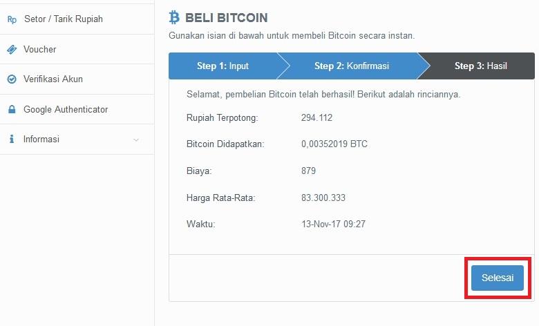 cara indėlis uang di vip bitcoin