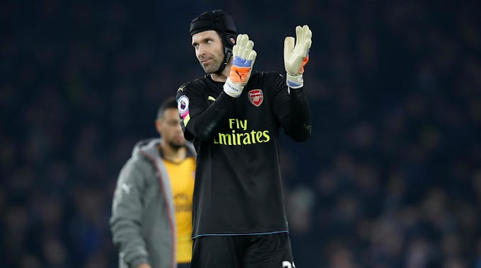 Cech urges Arsenal to move on from Everton defeat