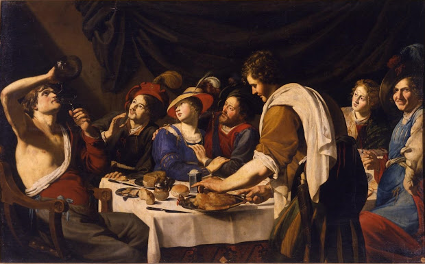 Spencer Alley Bartolomeo Manfredi 1582-1622 - Paintings Rome