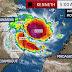 Ciclone Kenneth em cima das Ilhas Comores em direcção a Moçambique