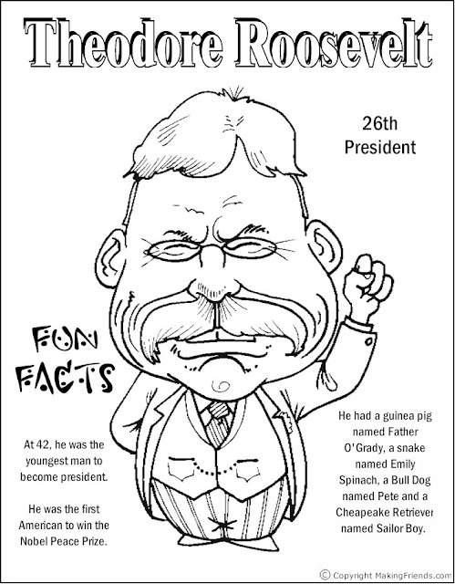The Most Amazing Collection Of Coloring Pages For President Day 2018