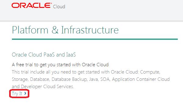SOA Cloud Service Registartion
