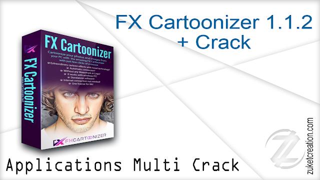 FX Cartoonizer 1.1.2 + Crack