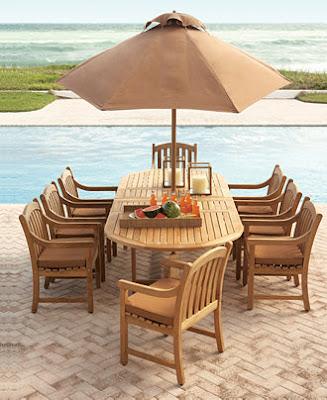 meja makan payung pantai
