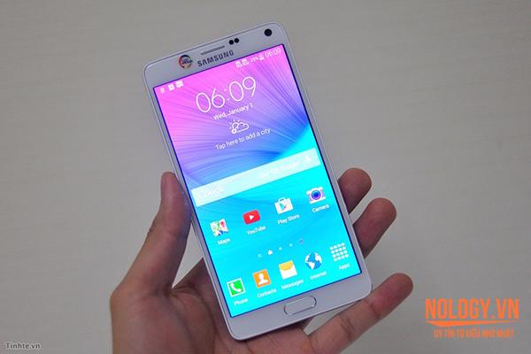 Samsung galaxy note 4 2 sim cũ với những đặc điểm nổi bật