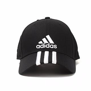 topi adidas hitam