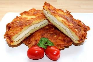 Куриное филе в картофеле