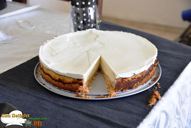 Scrumptious cheesecake