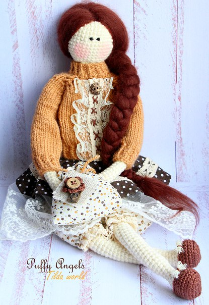 Amgurumi Tilda Doll-Free Pattern - Knitting, Crochet, Diy ...