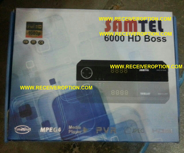 SAMTEL 6000 HD BOSS RECEIVER BISS KEY OPTION
