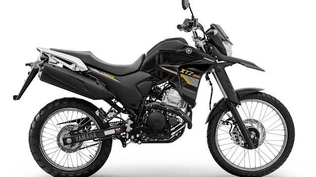 Yamaha Lander XTZ 250 2020 - Preta
