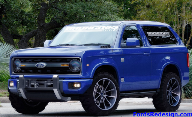 2018 Ford Bronco Price in India