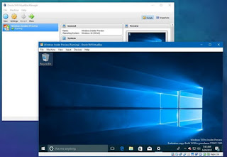 Windows 10 su Virtualbox
