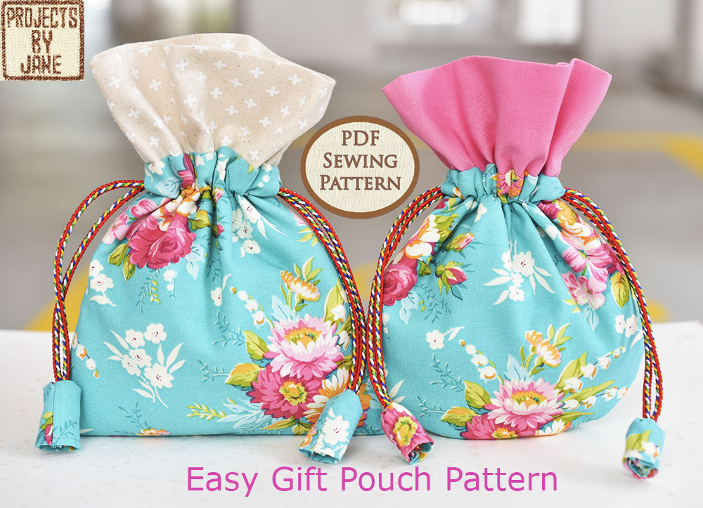 Easy Gift Pouch Pattern