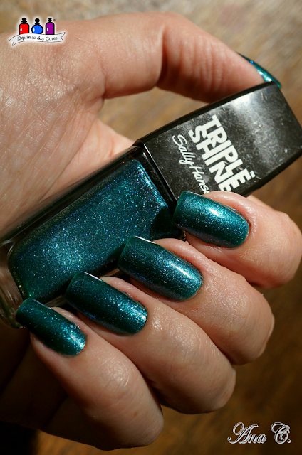 Triple Shine, Sally Hansen, Sparkling Water