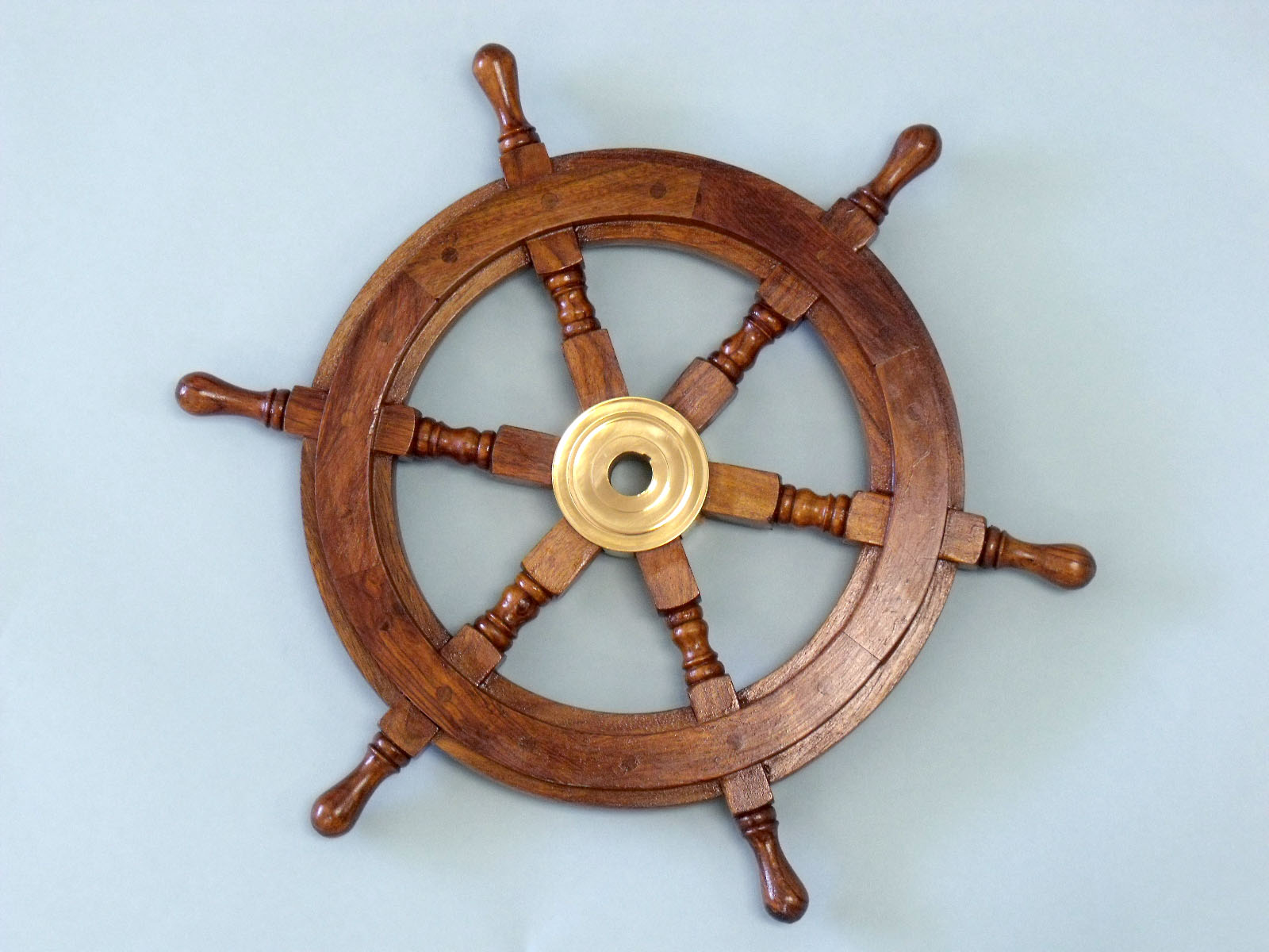 Wooden Ship Wheel Makes A Great Gift For Nautical Enthusiasts And Beautiful Decor