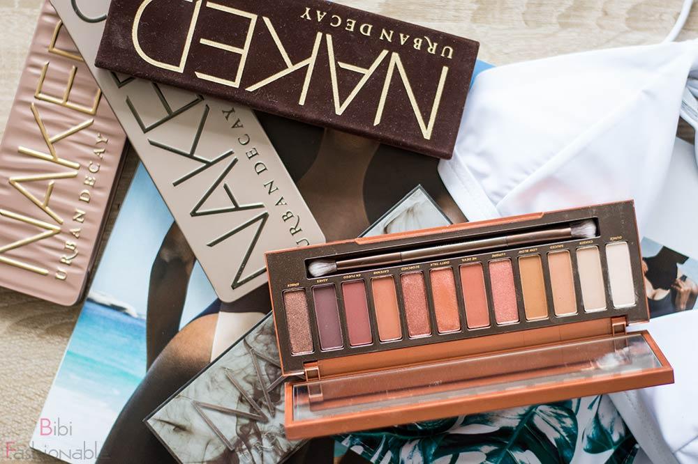 Top 3 Urlaub Make-Up Essentials Urban Decay Naked Paletten