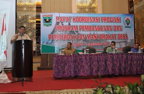 Buka Rakor P3MD, Gubernur Irwan Tak Ingin Wali Nagari Masuk Penjara