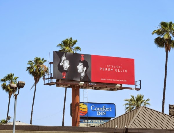 Perry Ellis 2013 Spirited billboard