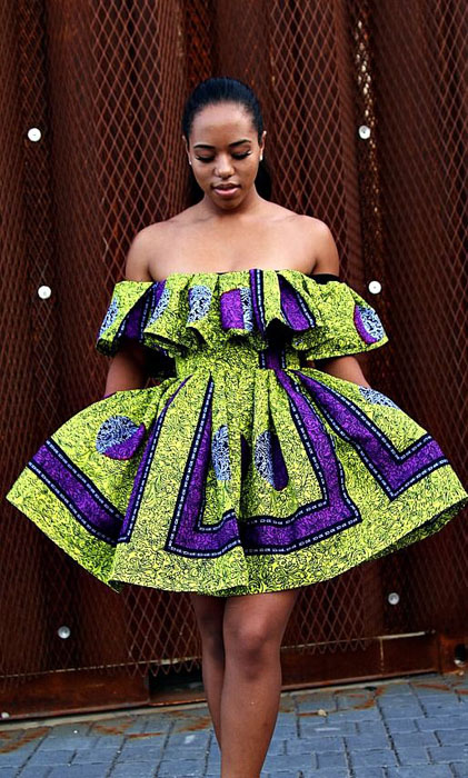 Off-Shoulder-Ankara-Tops-Dresses=