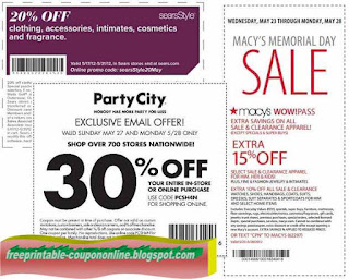 Free Printable Sears Coupons