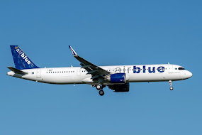 1st A321NEO for AirBlue