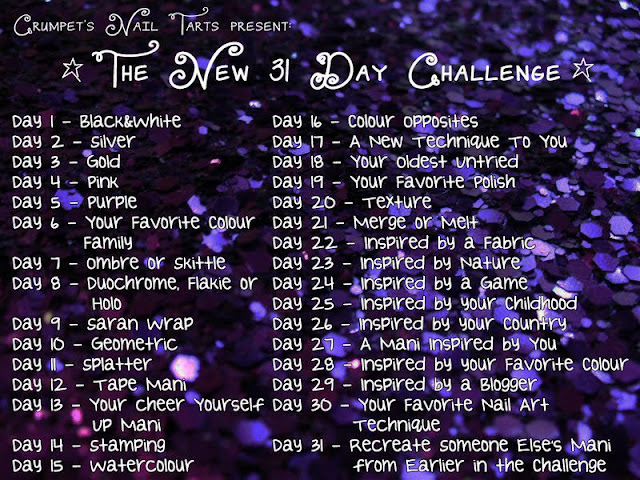 The New 31 Day Challenge