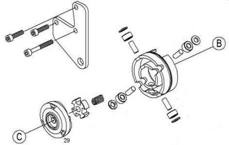 INJECTION-AUTOMOTIVE: 2466110226 BOSCH-CAM PLATE