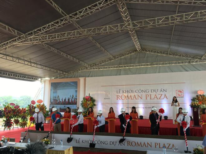 Lễ khởi công dự án Roman Plaza Lê Văn Lương