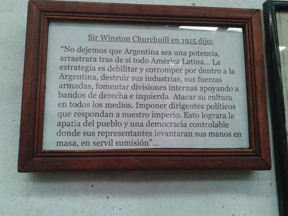 Enter Miraski On Line Winston Churchill Y Argentina Una