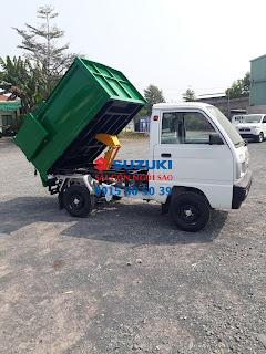 Xe Tải Chở Rác Suzuki