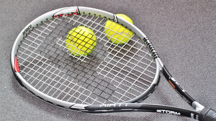 Wallpaper: Sport. Tennis. Balls. Racket