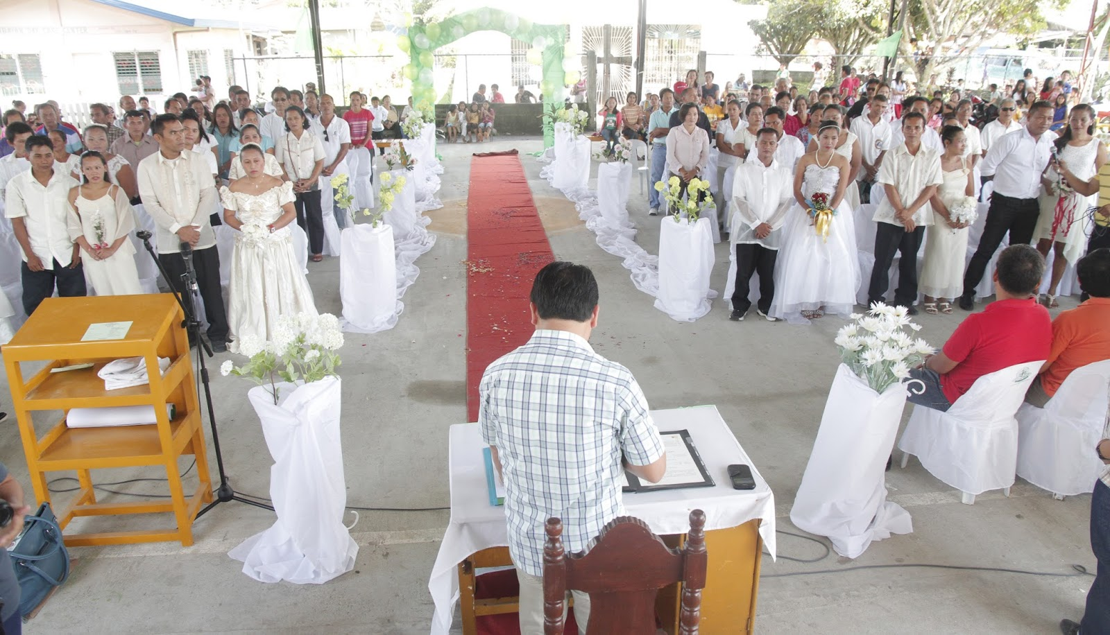 A Photo To Civil Wedding Held In Tagum City Ph