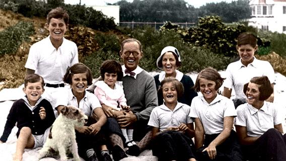 Resultado de imagem para imagens da familia kennedy