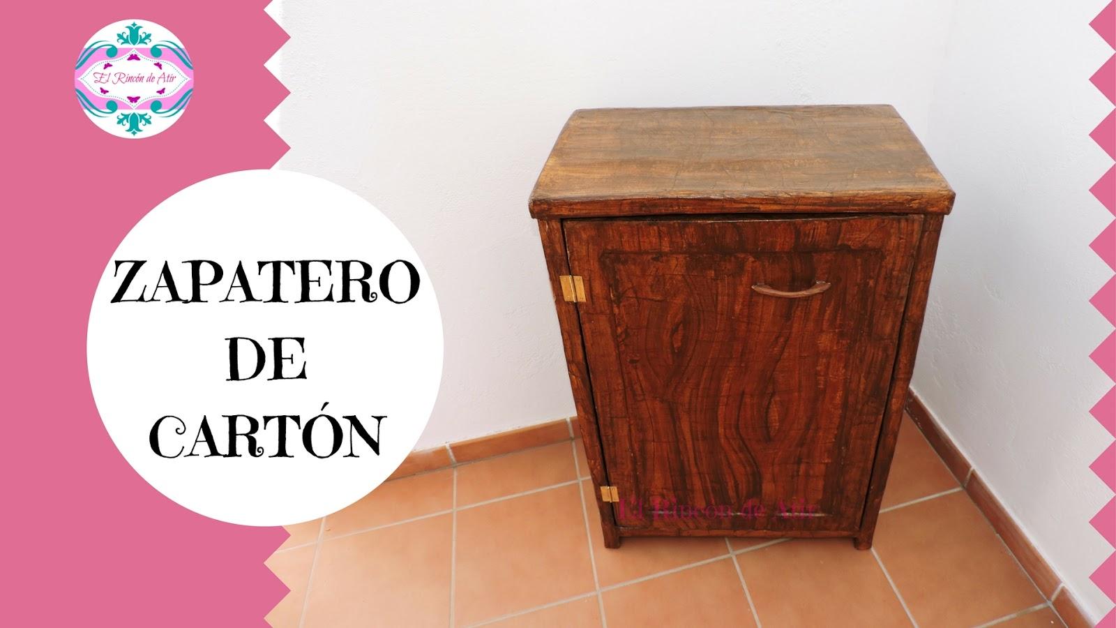 El rinc n de atir c mo hacer un zapatero o mueble for Proyecto de muebles de madera