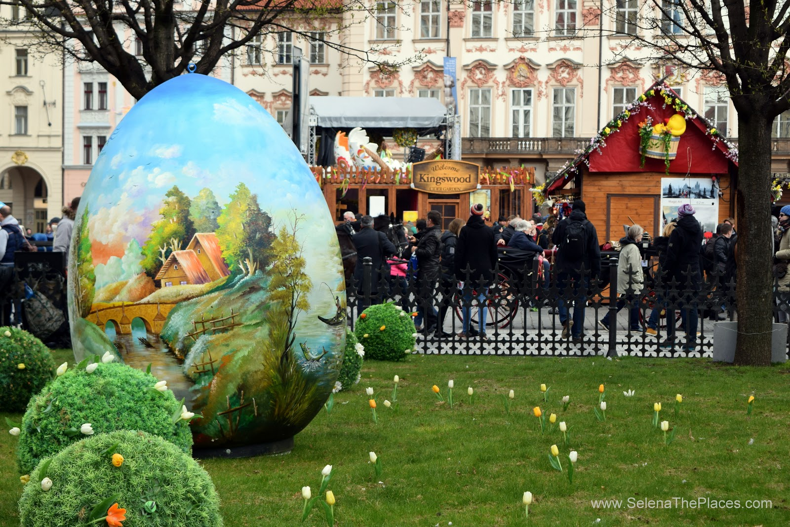 Easter Markets of Prague, Czech Republic