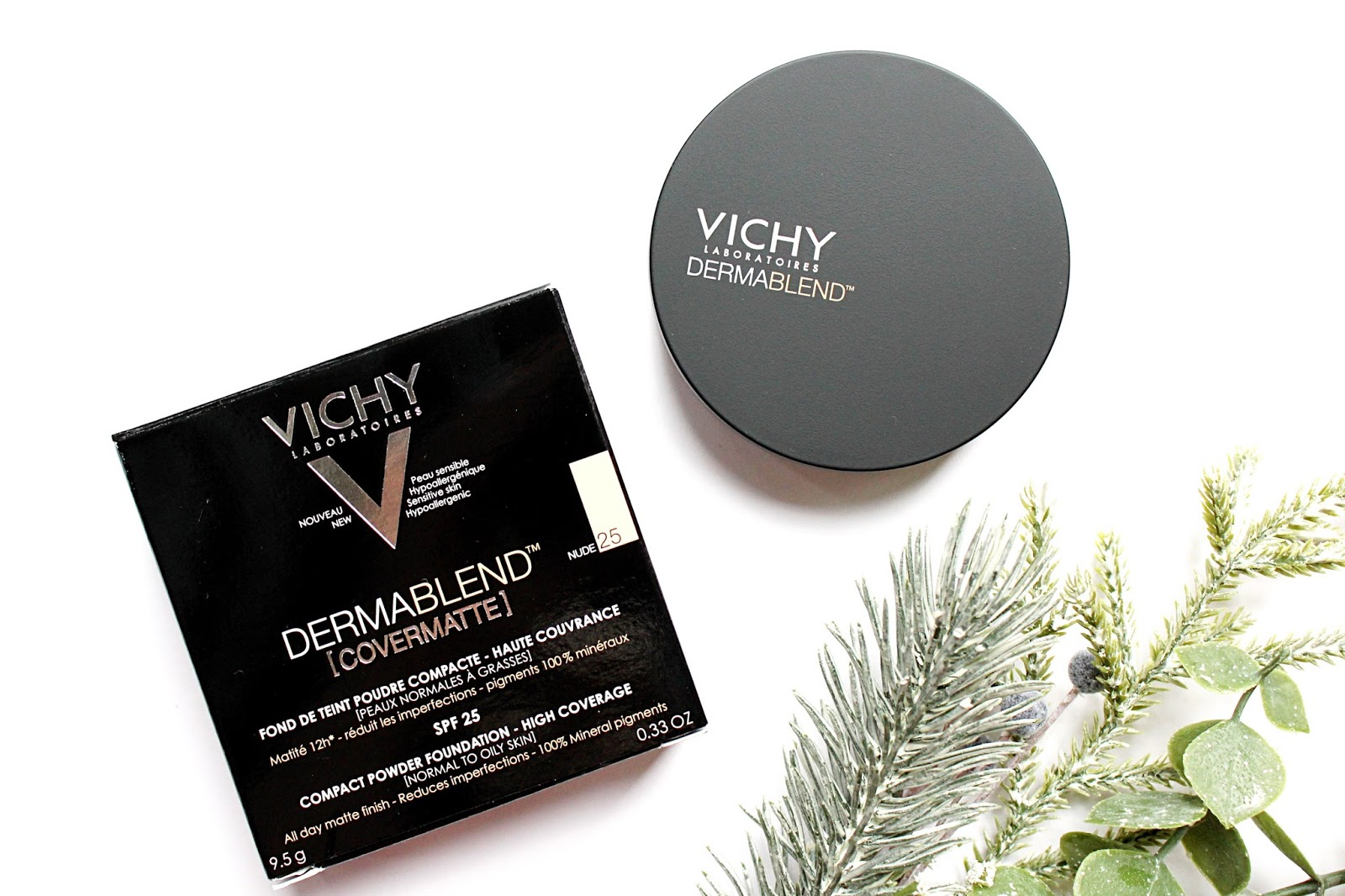 Vichy Dermablend [Covermatte] Powder Review